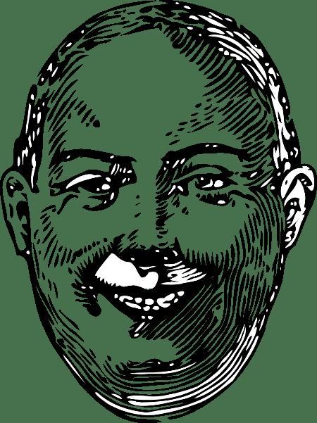 Fat Man clip art Free Vector / 4Vector