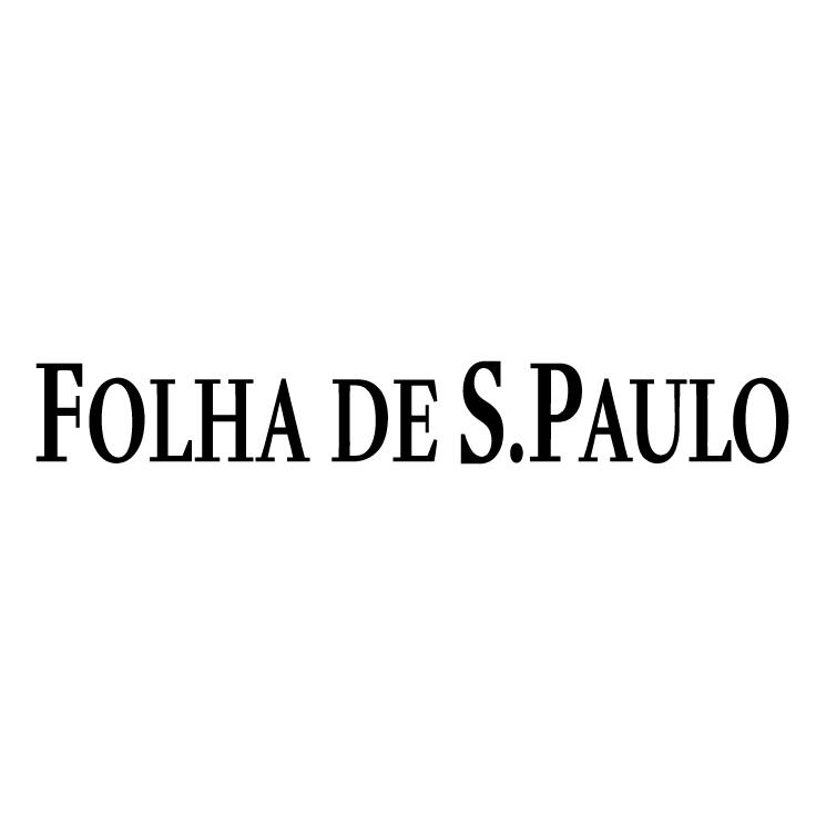 Folha de sgo paulo (46543) Free EPS, SVG Download / 4 Vector