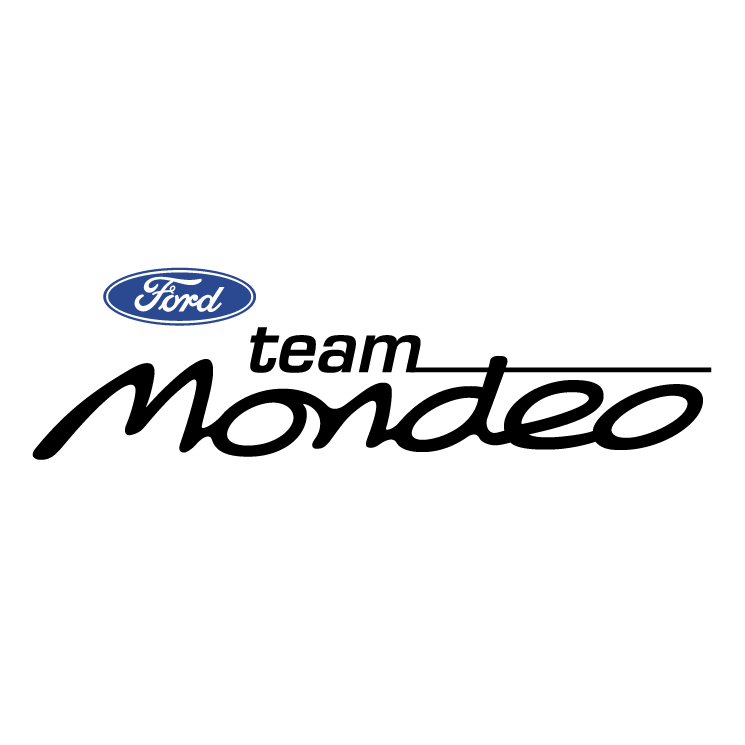 Ford mondeo team Free Vector / 4Vector