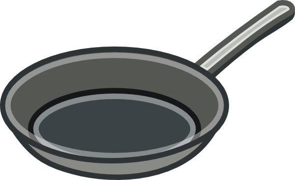 Frying Pan Clip Art Free Vector 4Vector