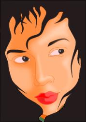 face vector frame clip svg