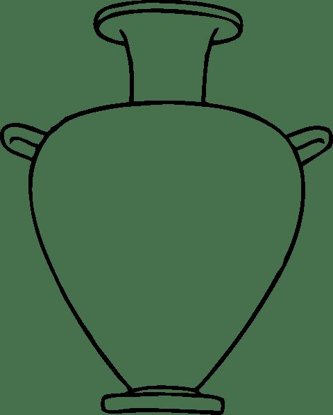 Greek Amphora clip art (108557) Free SVG Download / 4 Vector