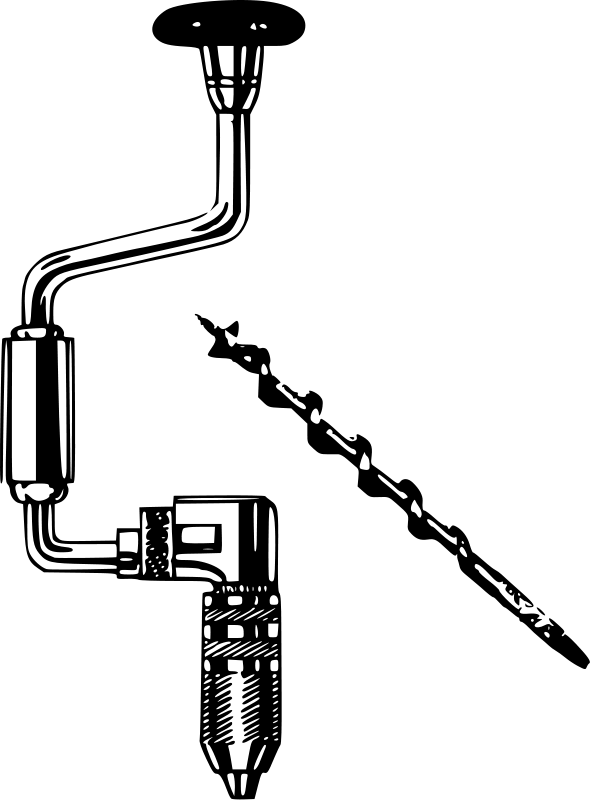 Hand Drill (98299) Free SVG Download / 4 Vector