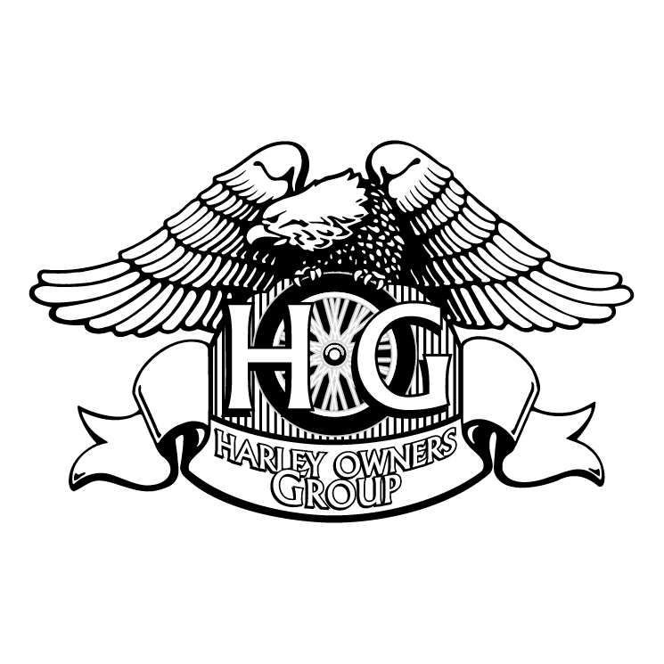 Harley owners group (57259) Free EPS, SVG Download / 4 Vector