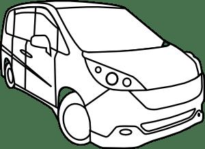 Honda Step Wagon clip art (109363) Free SVG Download / 4