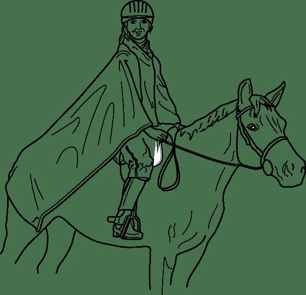 Horse Rider clip art (128081) Free SVG Download / 4 Vector