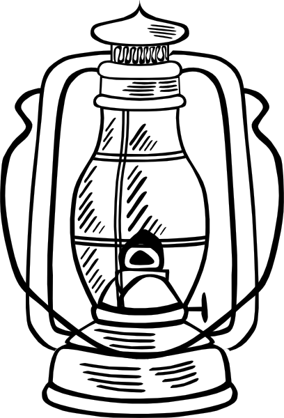 Hurricane Lamp clip art (115872) Free SVG Download / 4 Vector
