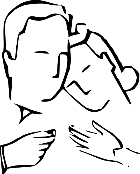 Husband Wife Happy Family clip art (103166) Free SVG