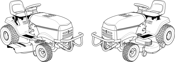 Lawn Mower clip art (106142) Free SVG Download / 4 Vector