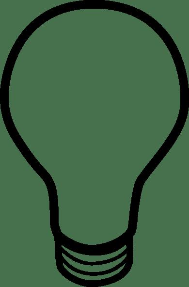 Lightbulb clip art (116331) Free SVG Download / 4 Vector
