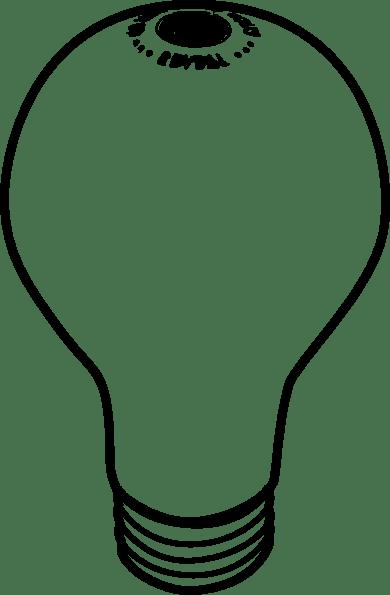 Lightbulb clip art (116334) Free SVG Download / 4 Vector