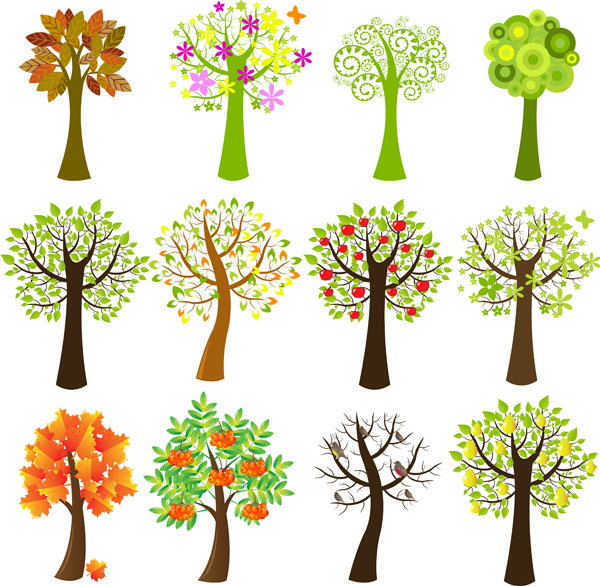 lovely trees 93429 free