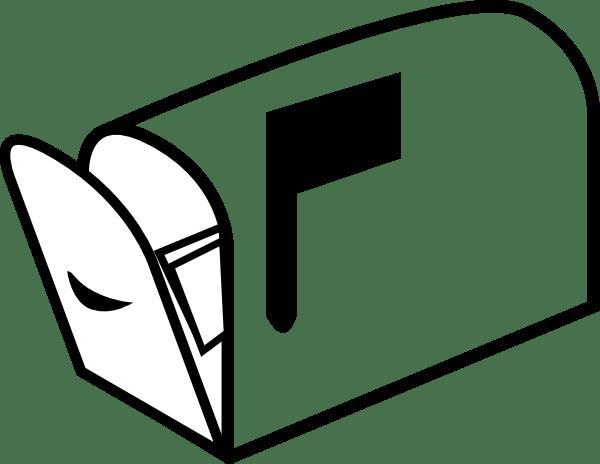 Mailbox 3 clip art Free Vector / 4Vector