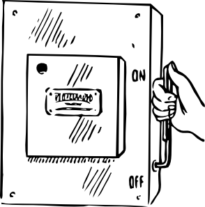 Main Switch clip art (106384) Free SVG Download / 4 Vector