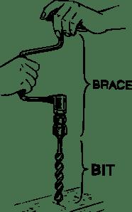 Manual Drill clip art (115781) Free SVG Download / 4 Vector