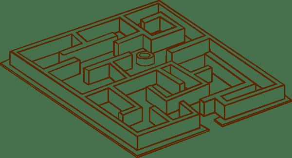Maze clip art (110185) Free SVG Download / 4 Vector