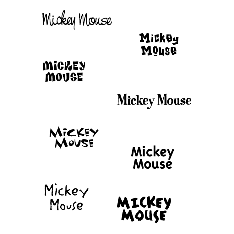 Mickey mouse (33557) Free EPS, SVG Download / 4 Vector