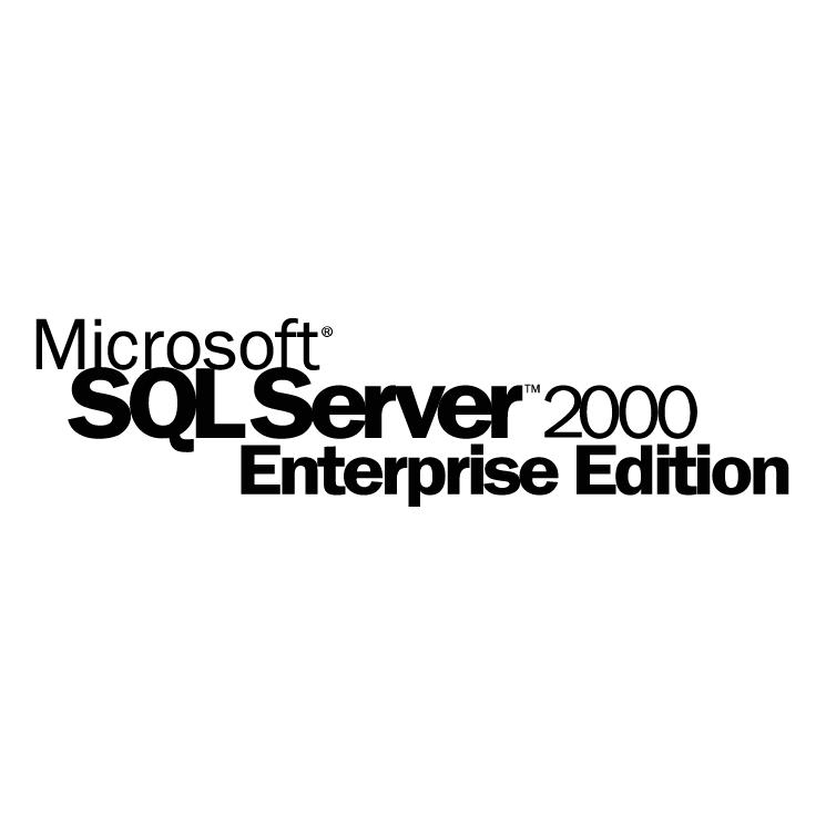 Microsoft sql server 2000 personal edition download
