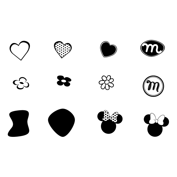 Minnie mouse (33483) Free EPS, SVG Download / 4 Vector