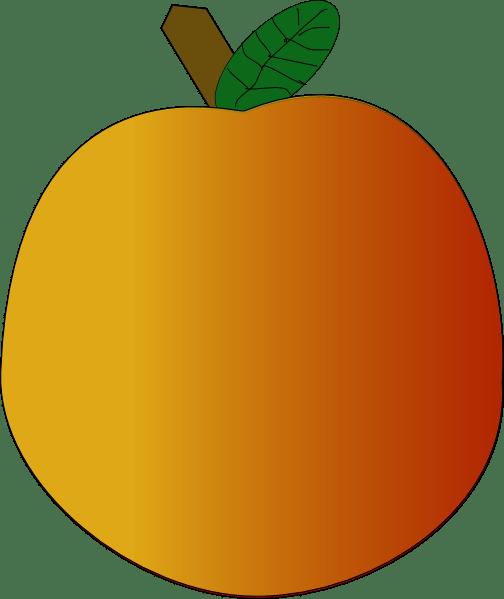 orange clip art free vector 4vector