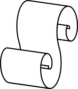 Paper Scroll clip art Free Vector / 4Vector
