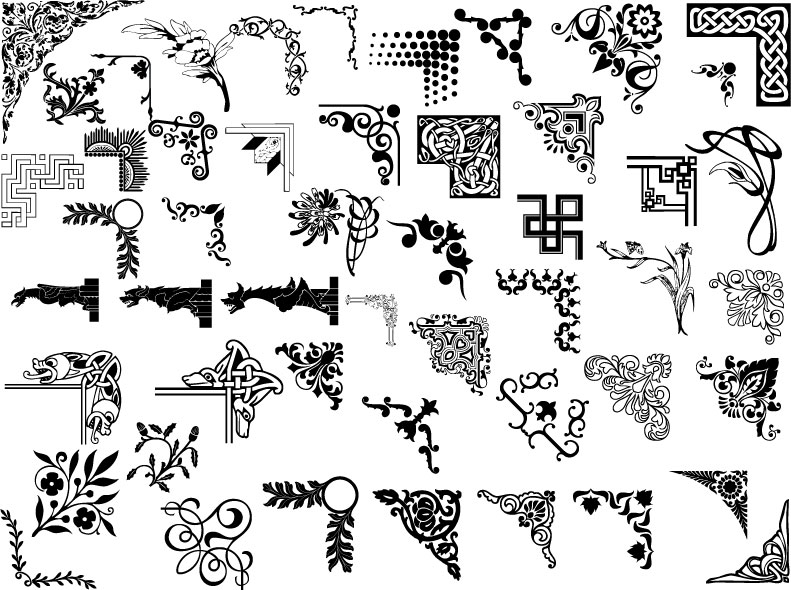 Pattern ai models (23333) Free AI Download / 4 Vector