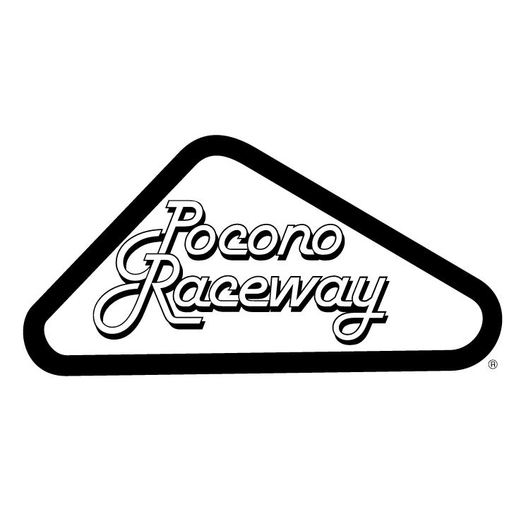 Pocono raceway (54123) Free EPS, SVG Download / 4 Vector