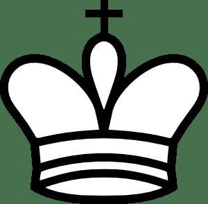 Portablejim Chess Tile King clip art (103252) Free SVG