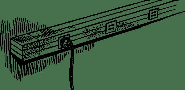 Power Strip clip art (116547) Free SVG Download / 4 Vector