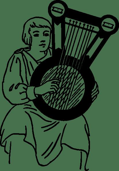 Psaltery Musical Instrument clip art Free Vector / 4Vector