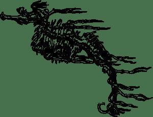 Seahorse Skeleton clip art (107031) Free SVG Download / 4