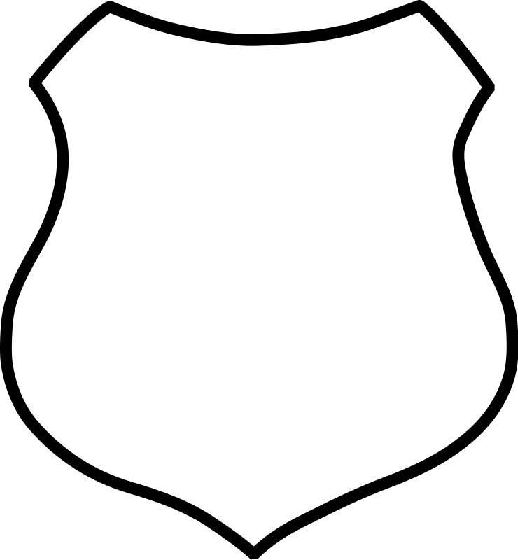 Simple shield (100040) Free SVG Download / 4 Vector