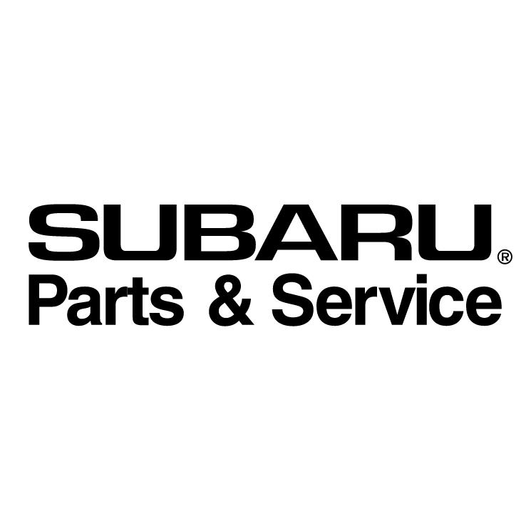 Subaru parts service Free Vector / 4Vector