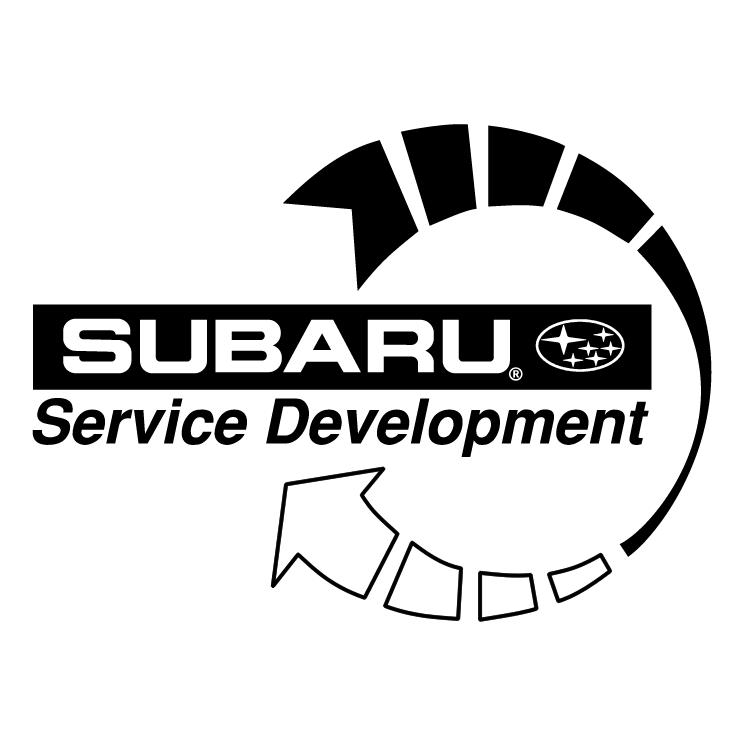 Subaru service development Free EPS, SVG Download / 4Vector