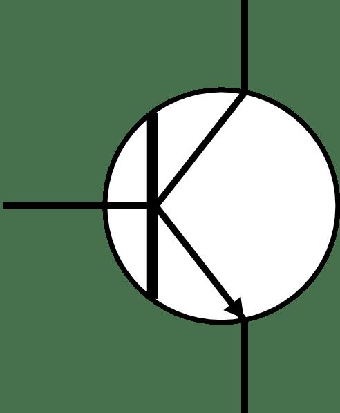 Transistor clip art Free Vector / 4Vector