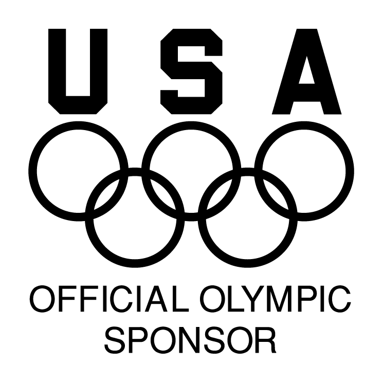 Usa official olympic sponsor (61900) Free EPS, SVG