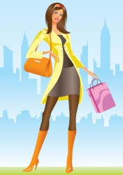 vector shopping illustration 4vector eps graphic graphics