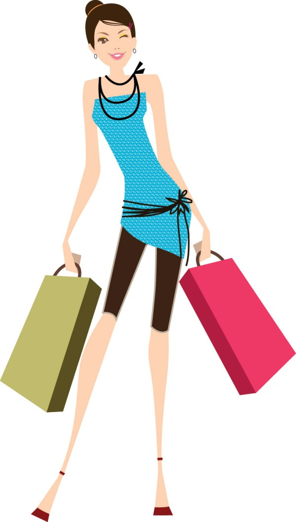 Women Vector Fashion Shopping Free 4vector