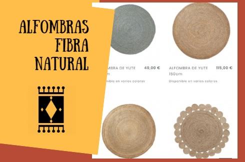 alfombras de fibra natural