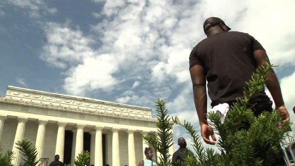 Black voters see election as referendum on race