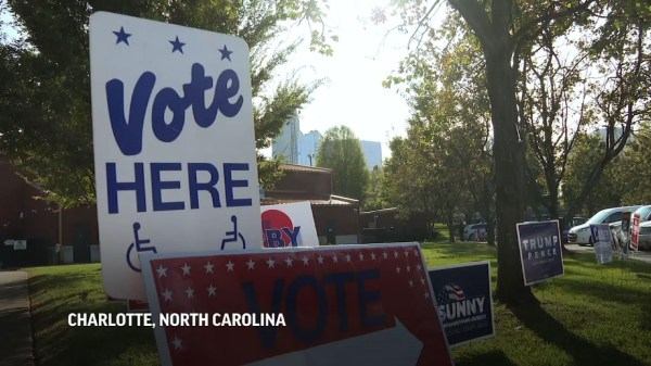 NC voters head to the polls on Election Day