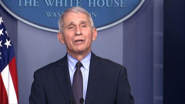 Fauci: 'Liberating' to work with new team on virus