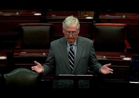 Mitch McConnell ends standoff over filibuster in Senate