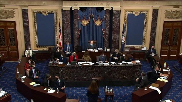 Senators to consider witnesses in Trump trial
