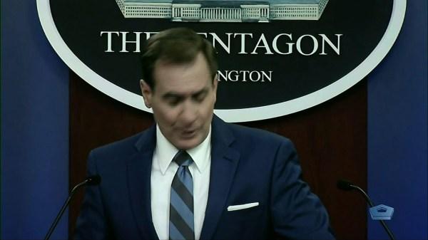 US warns of military response to rocket attack