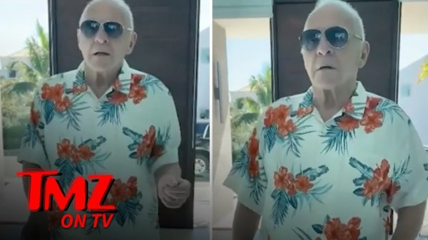 Anthony Hopkins' Dance Moves Are On Point! | TMZ TV