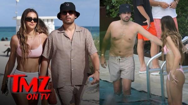 Scott Disick Shows Off His Dad Bod | TMZ TV