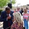 Georgia governor gets challenge from former Dem