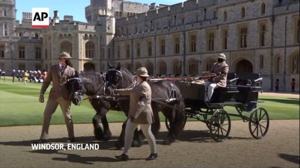 Highlights of funeral procession for Prince Philip
