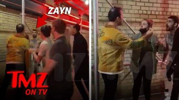 Zayn Malik Goes Shirtless in Near-Brawl Outside NYC Bar   TMZ TV
